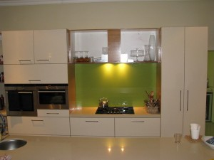 Glass Splash Back
