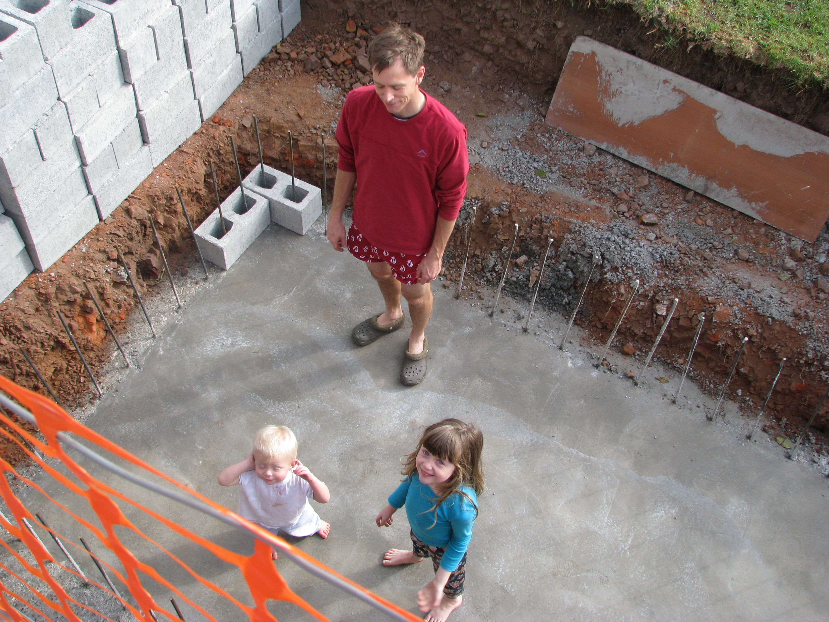 Natural swimming pool construction skyhooks and other - How soon can you swim after plastering pool ...